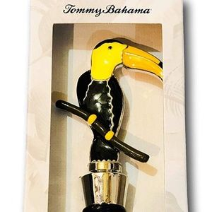 Tommy Bahama Metal Wine Bottle Stopper Toucan